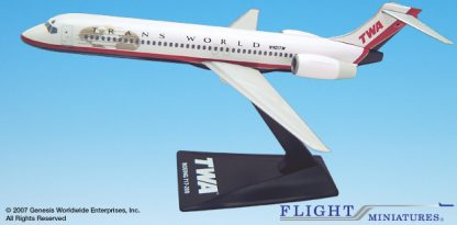 Boeing 717-200 TWA Trans World Airlines Livery