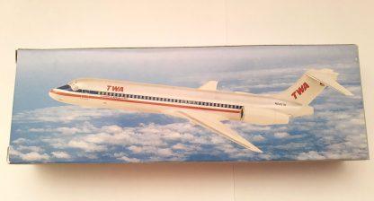 TWA American Airlines Boeing 717-200 Model Box