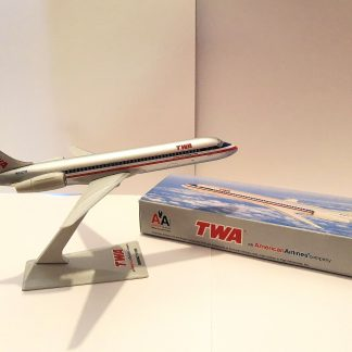 TWA American Airlines Boeing 717-200 Model With Box