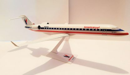 American Eagle Bombardier CRJ700 Model Front Side View