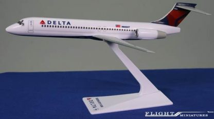 A Delta Air Lines Boeing 717-200 Model - Flight Miniatures