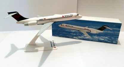Delta Air Lines Boeing 717-200 Model With Box