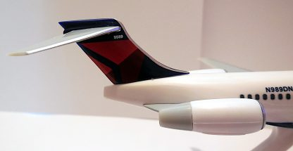 Boeing 717-200 Delta Air Lines Model Tail