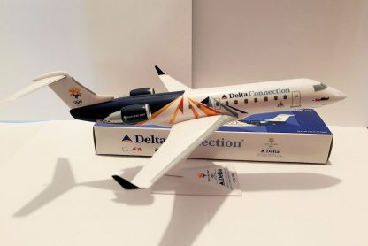 Delta Connection Bombardier CRJ200 2002 Olympics Salt Lake City Model With Box