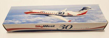SkyWest 30th Anniversary Bombardier CRJ200 Model Box
