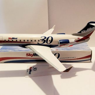 SkyWest 30th Anniversary Bombardier CRJ200 Model With Box