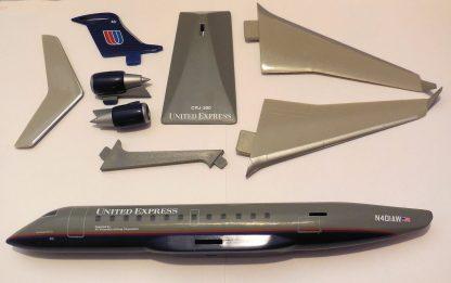 United Express Bombardier CRJ200 Model Parts
