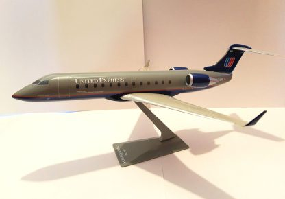 United Express Bombardier CRJ200 Model Sideview Front