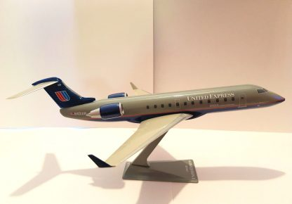United Express Bombardier CRJ200 Model Sideview